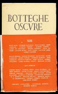 La revue Botteghe Oscure publia Dylan Thomas et d'autres auteurs prestigieux