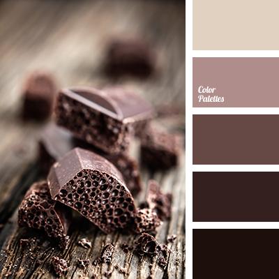 цвет горький шоколад