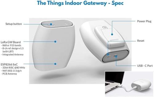 The Things Indoor LoRaWAN WiFi Gateway