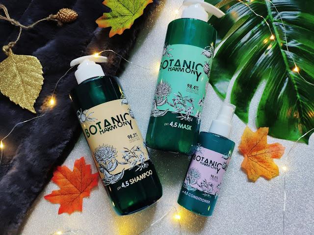 BOTANIC HARMONY - Świetne, profesjonalne kosmetyki do pielęgnacji włosów od STAPIZ
