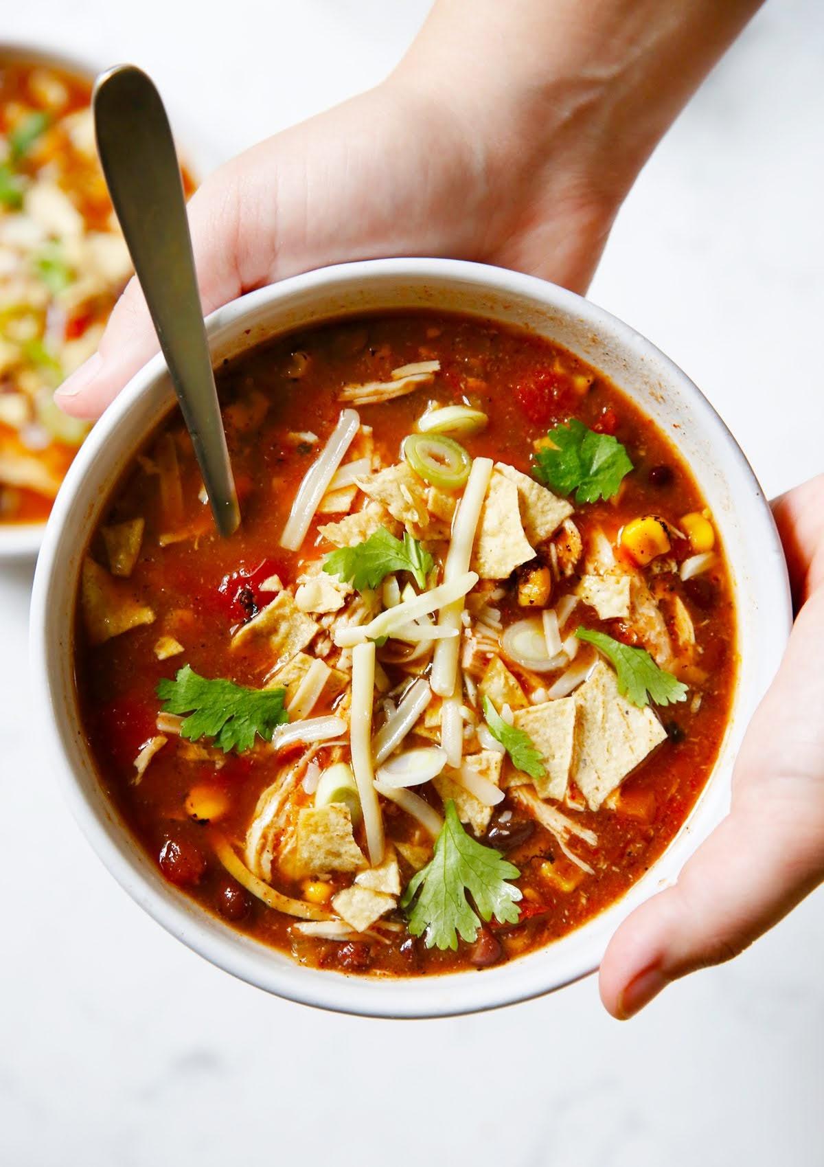 Instant Pot Southwest Chicken Soup | Lexi's Clean Kitchen