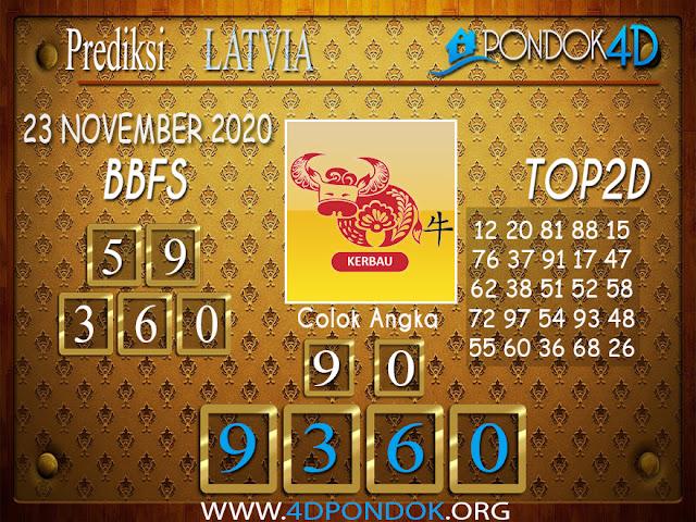 Prediksi Togel LATVIA PONDOK4D 23 NOVEMBER 2020