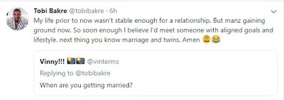 """""""I Would Get Married When I Meet Someone With Aligned Goals And Lifestyle"""" - Tobi Bakre"""
