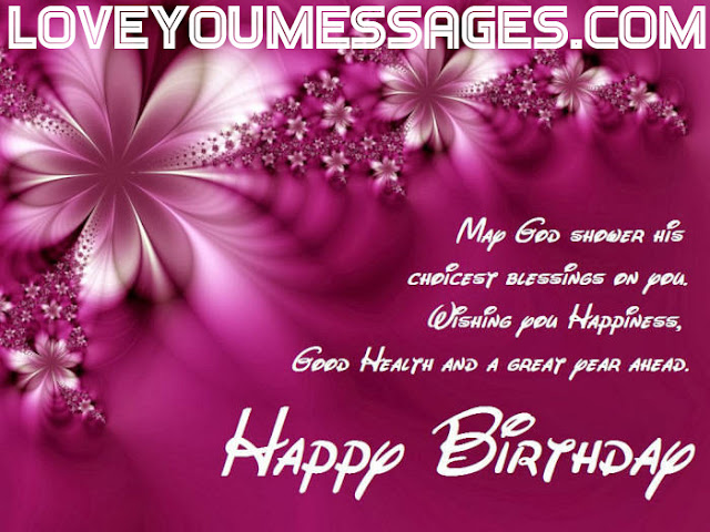 romantic birthday sms for lover in english