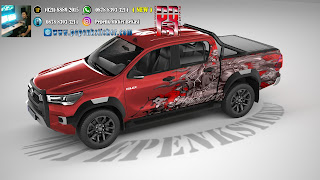 DECAL HILUX