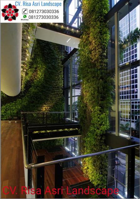 jasa tukang vertical garden gresik ... - idea pertamanan