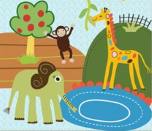 Cuento corto en inglés: Elephant and friends