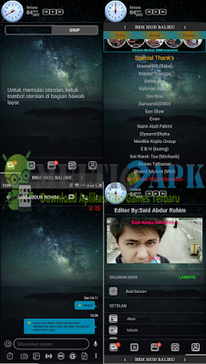 BBM Galaxy Mod v3.3.6.51 + New Emoticon