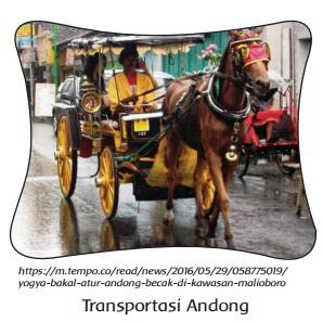 Transportasi Andong www.simplenews.me