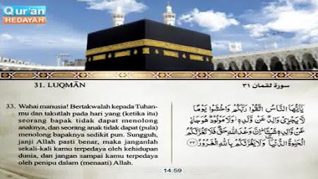 Frekuensi siaran Quran Hedayah Indonesian di satelit AsiaSat 5 Terbaru