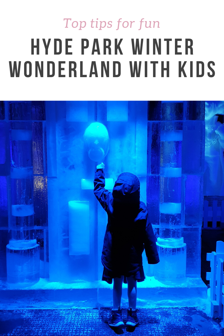 Top tips on how to have fun and survive a hectic day out with kids at Hyde Park Winter Wonderland. Ideas for food and fun activities.