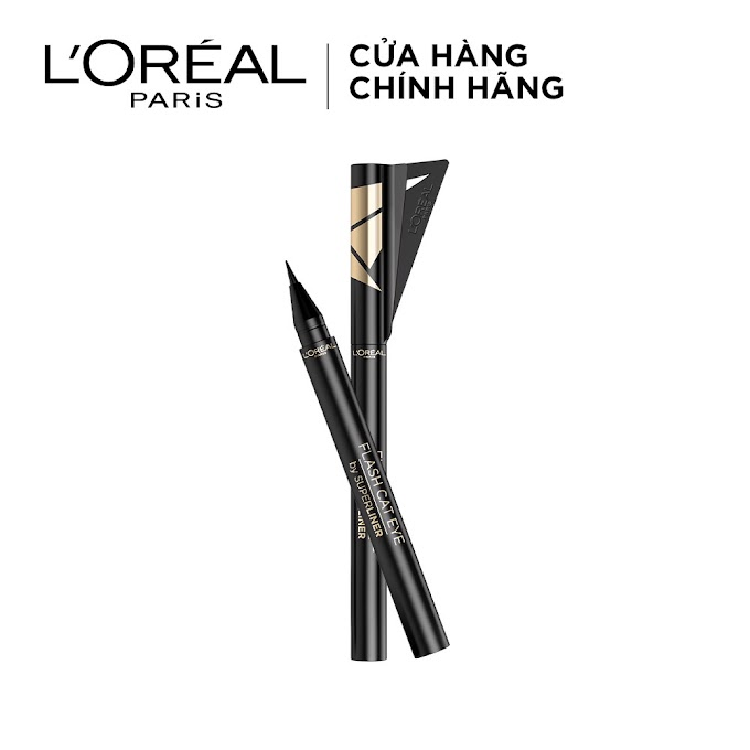 Bút Kẻ Mắt Lâu Trôi L'Oreal Paris Flash Cat Eye By Superliner
