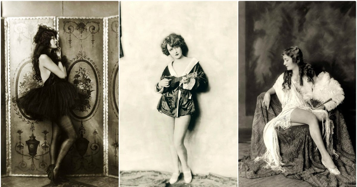 64 Glamorous Portrait Photos of Ziegfeld Girls by Alfred Cheney Johnston From the Late 1910s to Early 1930s