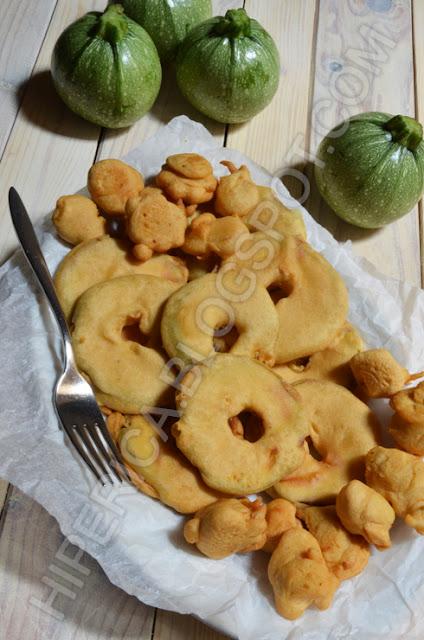 hiperica di lady boheme blog di cucina, ricette gustose, facili e veloci. Ricetta zucchine tonde fritte