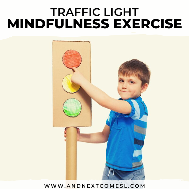 Mindfulness exercises for kids - traffic light technique
