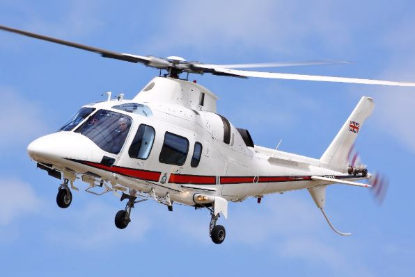 AgustaWestland AW109 Power helicopter