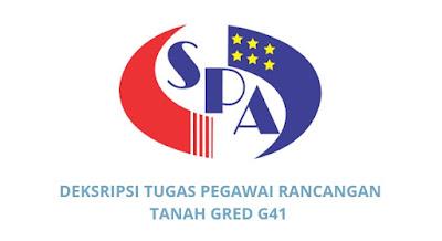 Gaji, Kelayakan & Tugas Pegawai Rancangan Tanah Gred G41
