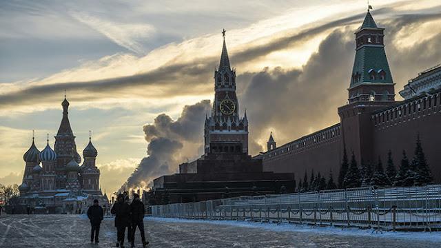 Американец сошел с ума на Красной площади