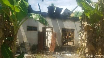 Pria di Pinrang Bakar Kantor Desa Karena Kesal Urus AJB