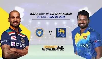 India vs Sri Lanka 1st ODI 2021