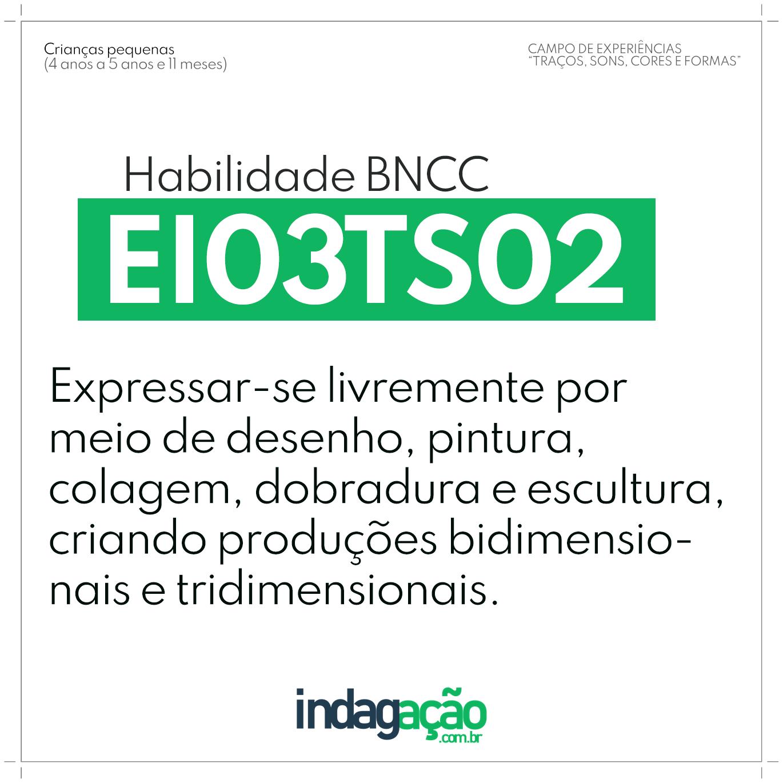 Habilidade EI03TS02 BNCC