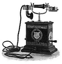 Pierwszy telefon - Alexander Bell
