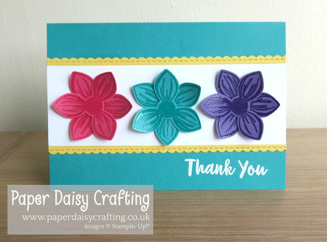 Floral Perennial Essence card Stampin Up