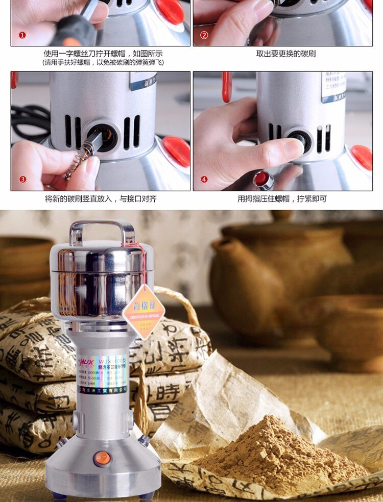 Herbs Grinder Mill Buy on Amazon and Aliexpress