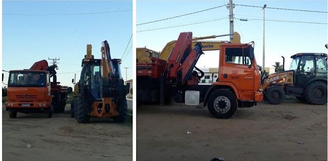 Máquinas chegam ao Vale do São Francisco para obras da ponte entre Barra e Xique-Xique-BA