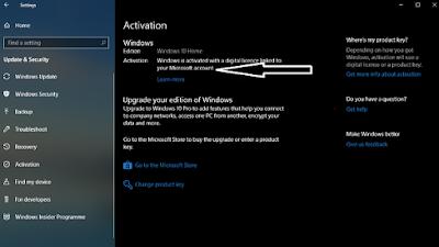 cara menemukan instal kunci produk windows 10
