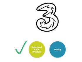 Cara Mengatasi Gagal Registrasi Kartu 3 / Tri