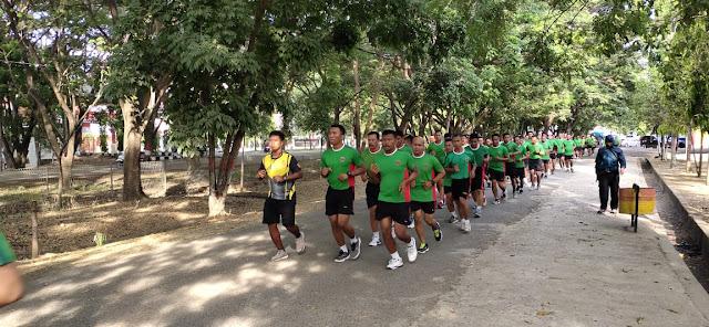 Personel Korem dan Balakrem Serta PNS 141/Tp Lakukan Ini di Stadion Lapatau Bone