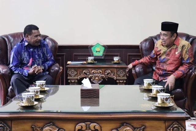 Menteri Agama RI Siap Membuka MTQ Papua Barat Tahun 2020 Di Sorong Selatan