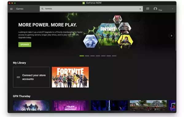 العب Fortnite مع GeForceNow