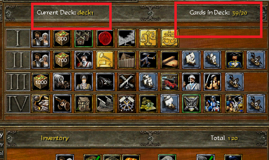 AGE OF EMPIRES III: HOW TO ADD MORE CARDS IN DECK