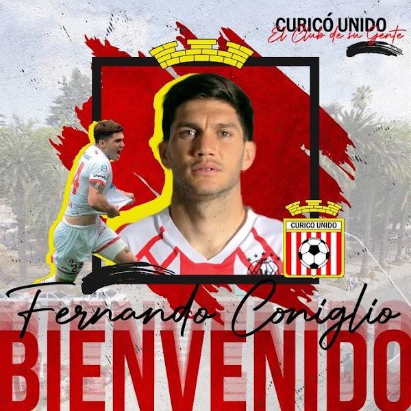 Oficial: Curicó Unido, firma cedido Coniglio