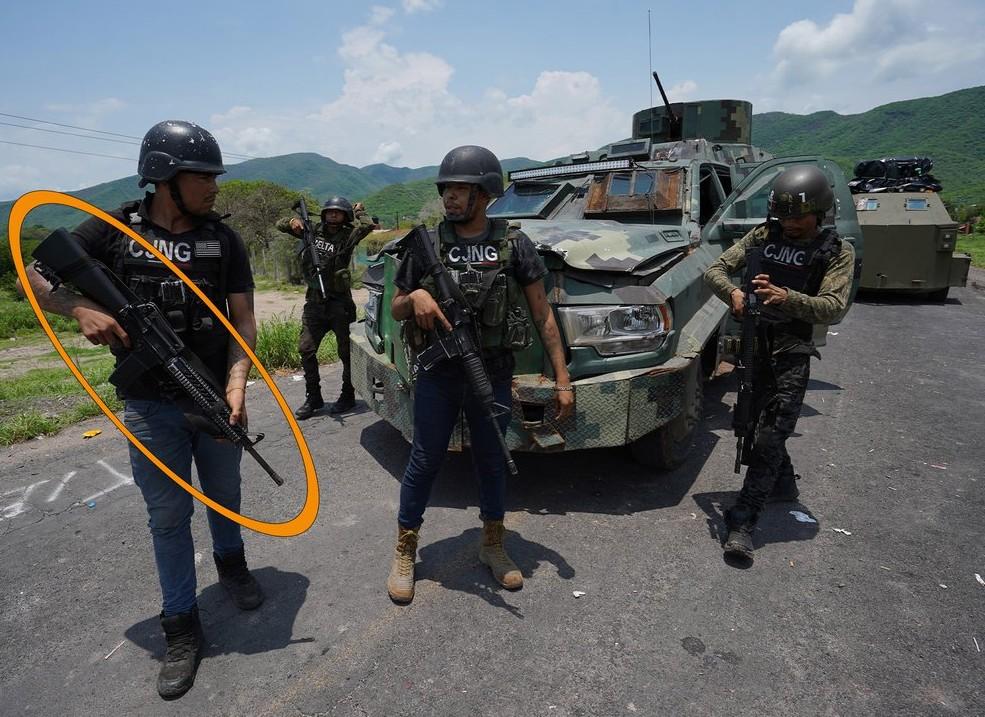 El CJNG del Mencho nunca tendrán mejores armas que el Ejército mexicano