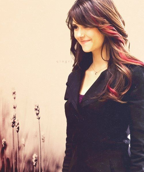 elena gilbert red hair