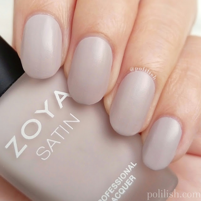 Zoya 'Leah' swatch, two coats without top coat | polilish