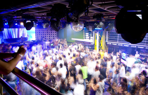 Haze Nightclub Beijing, China