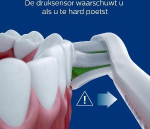Druksensor Philips elektrische tandenborstel