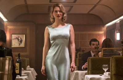 Léa Seydoux as Dr. Madeline Swann in Spectre, Directed by Sam Mendes