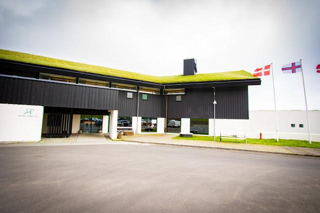 Hotel Føroyar-Ingresso