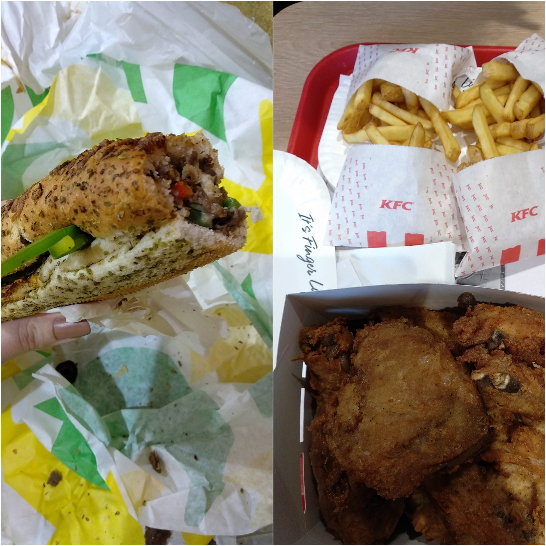Londres Hotel e Restaurantes - KFC e Subway