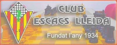 Club d'Escacs Lleida, fundado en 1934