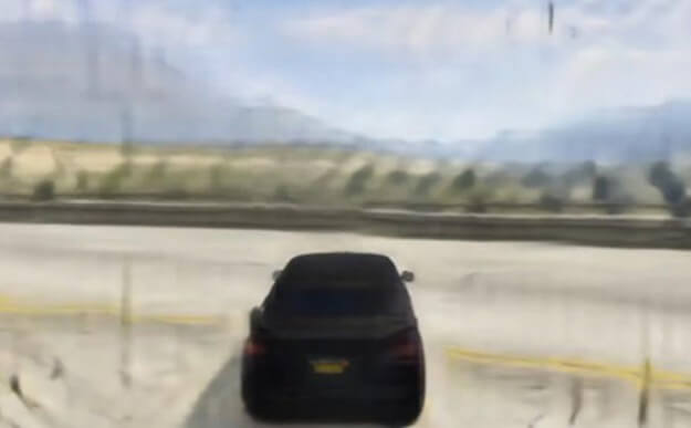 GAN Theft Auto - GTA 5 made by artificial intelligence