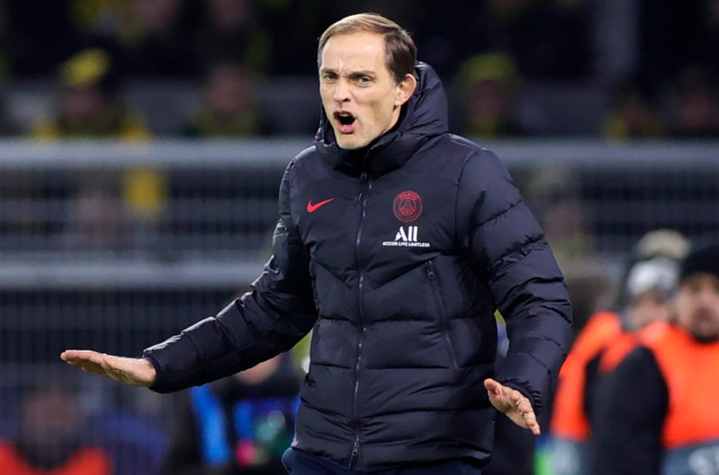 Paris Saint-Germain manager Thomas Tuchel