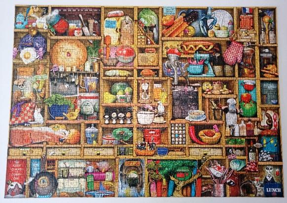 my latest 1,000 piece jigsaw