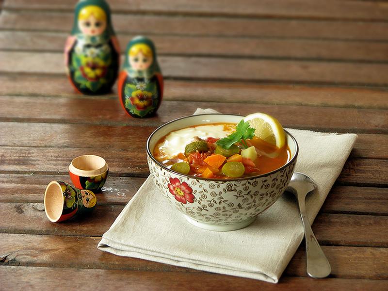 Solyanka soupe russe recettes bio et fait maison le - Cuisine traditionnelle russe ...