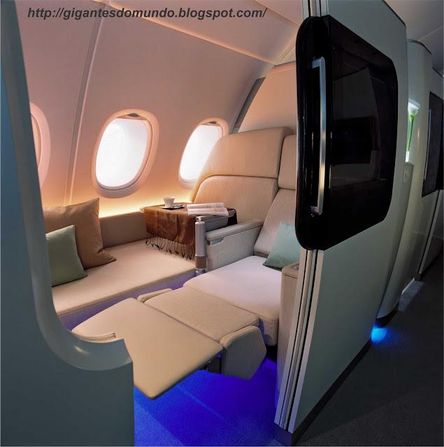 1ª classe do Airbus A380